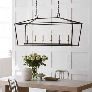 {Idea For Kitchen Table Lighting} Simple Farmhouse Chandelier