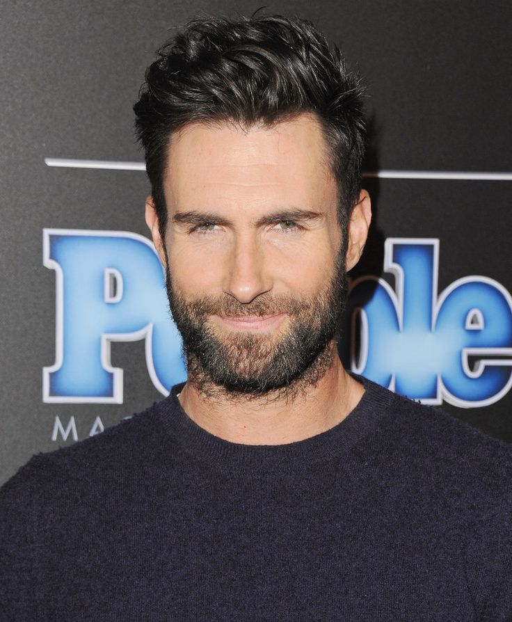 Yep, Adam Levine is always ready for his closeup.