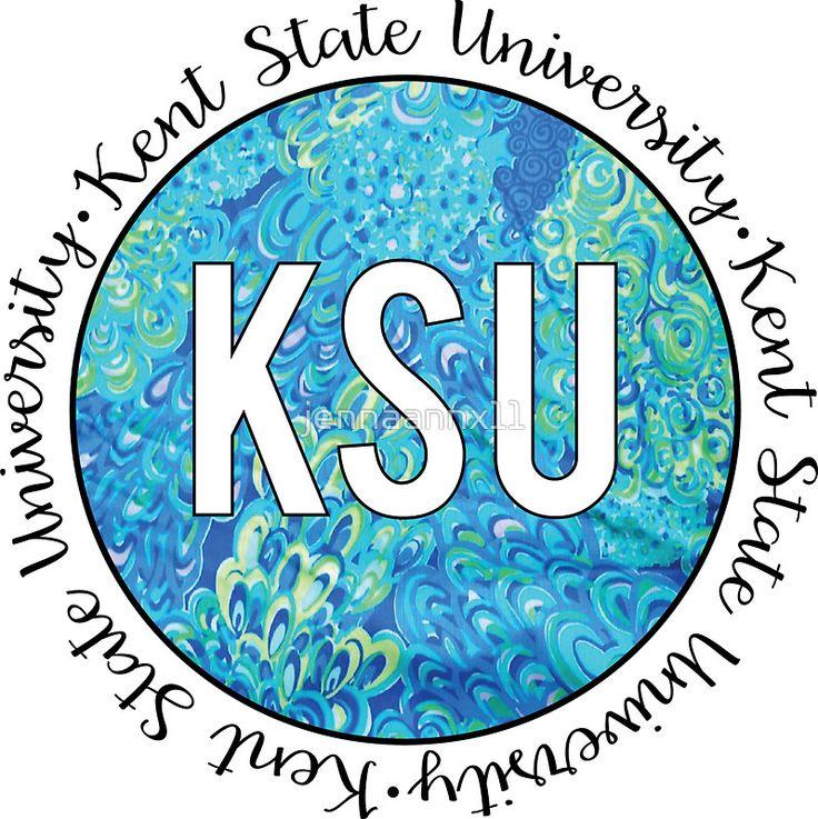 Kent State University Blue by jennaannx11