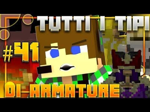 Minecraft Mod E41 - TUTTI I TIPI DI ARMATURA   Minecraft Mods