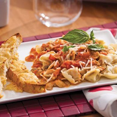 Tortellinis alla Gigi - Recettes - Cuisine et nutrition - Pratico Pratique