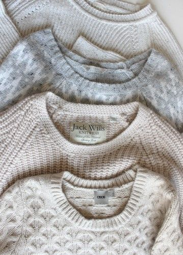 light knit sweaters