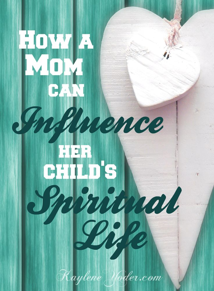 Our children are soaking up everything we do and say. They filter their responses to life by how they see us handle situations. Here are nine thought provoking ways a mom can influence her child's spiritual life.