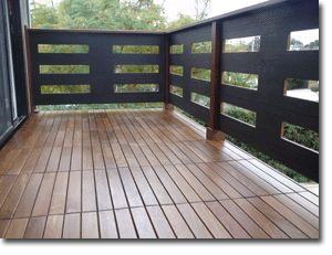 ipe deck tiles balcony - $24 for 12x24