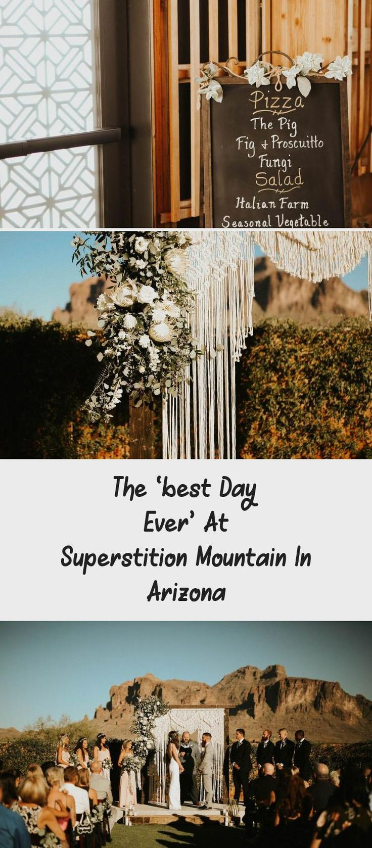 The 'Best Day Ever' at Superstition Mountain in Arizona - Tremaine Ranch. A Bride and Her Bridesmaids at a Desert Wedding. #dreamwedding #arizonawedding #BridesmaidDressesWithSleeves #BridesmaidDressesWinter #ModestBridesmaidDresses #BridesmaidDresses2018 #BridesmaidDressesStyles