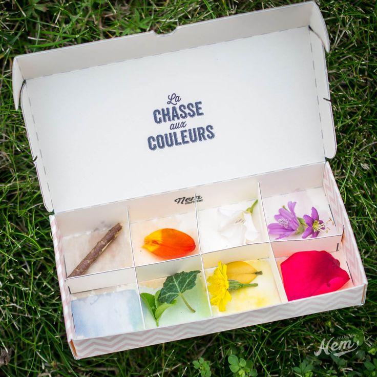 DIY chasse aux couleurs (printable) - Nemgraphisme.com