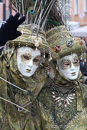 Masque - carnaval - Venise Italie