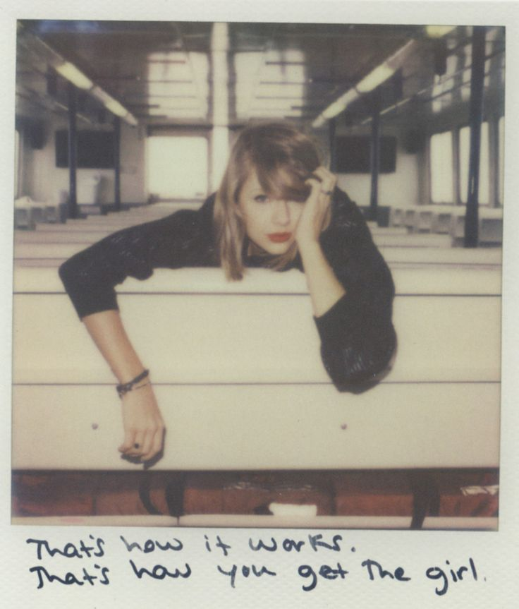 Taylor Swift Polaroid 31 - How You Get The Girl #1989
