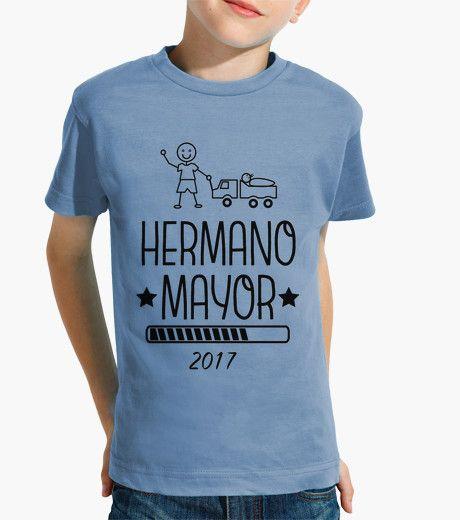 Camiseta Hermano Mayor 2017 celeste