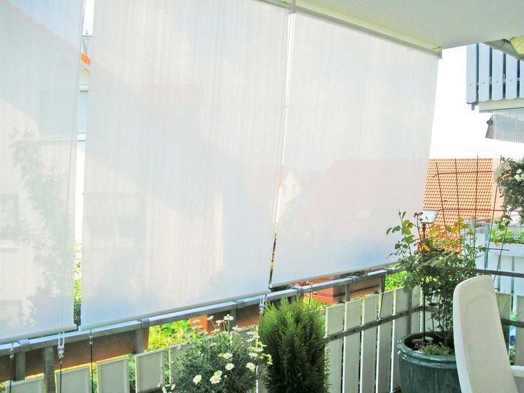 die besten 17 ideen zu sonnenschutz balkon auf pinterest. Black Bedroom Furniture Sets. Home Design Ideas