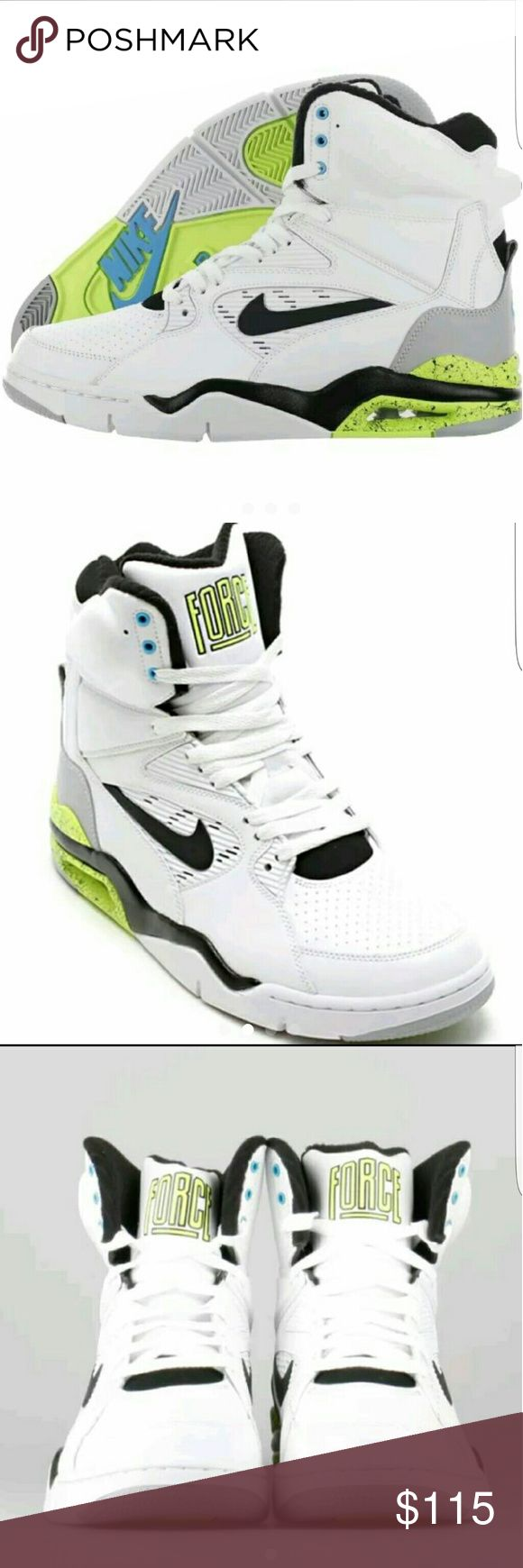 """Nike Command Force """"Billy Hoyle"""" Sz 8 **The top of the shoebox was removed by the store for display purposes therefore this item will ship without the shoebox lid.**   The Nike Air Command Force first touched down in 1990 during a golden age for hoops. Over two decades later, the sneaker that defined an era of basketball excellence makes its long-awaited return to the streets. The elevated design is also recognized for its vibrant color schemes, celebrated with this modern take on the…"""