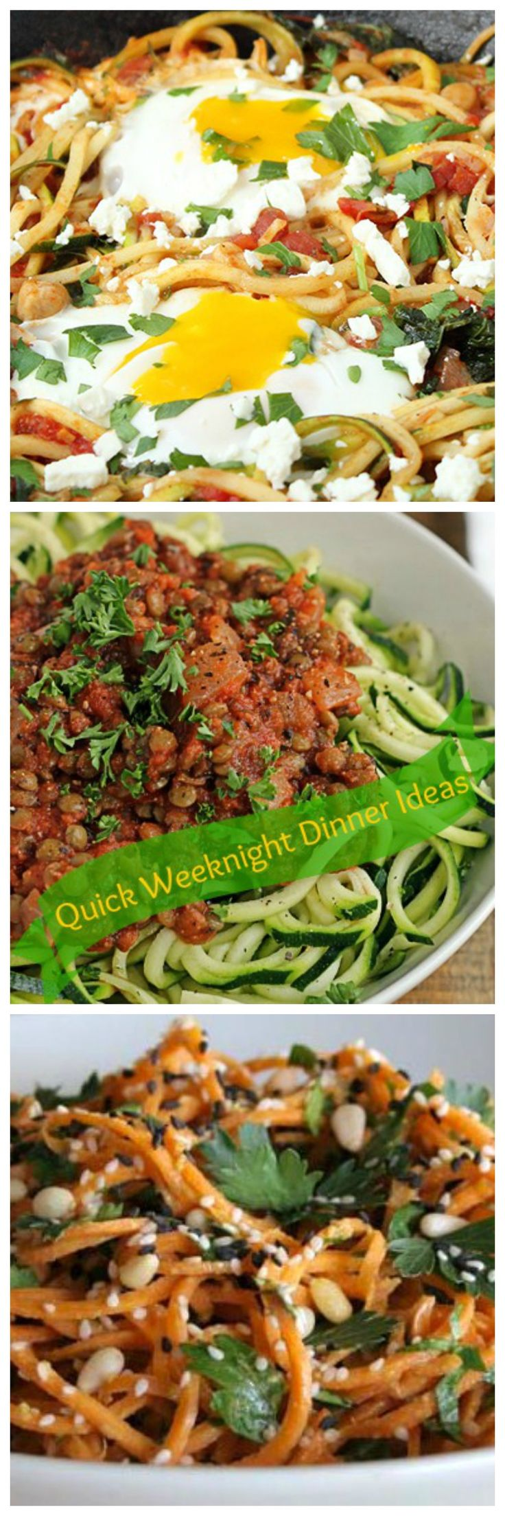 Quick Weeknight Dinner Ideas with recipes.  from KitcheNiche.  http://kitcheniche.com/recipes.html