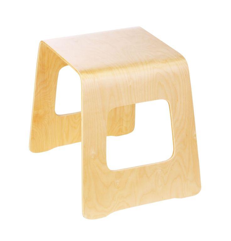 Benjamin Curved Plywood Stool Matt Blatt Bar Stools