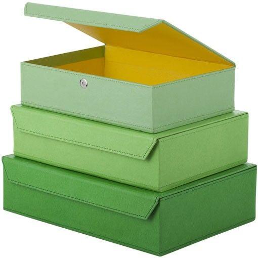 Förvara.se - Låda, magnetlås, Grön