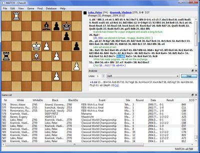 ChessX Free Chess Database