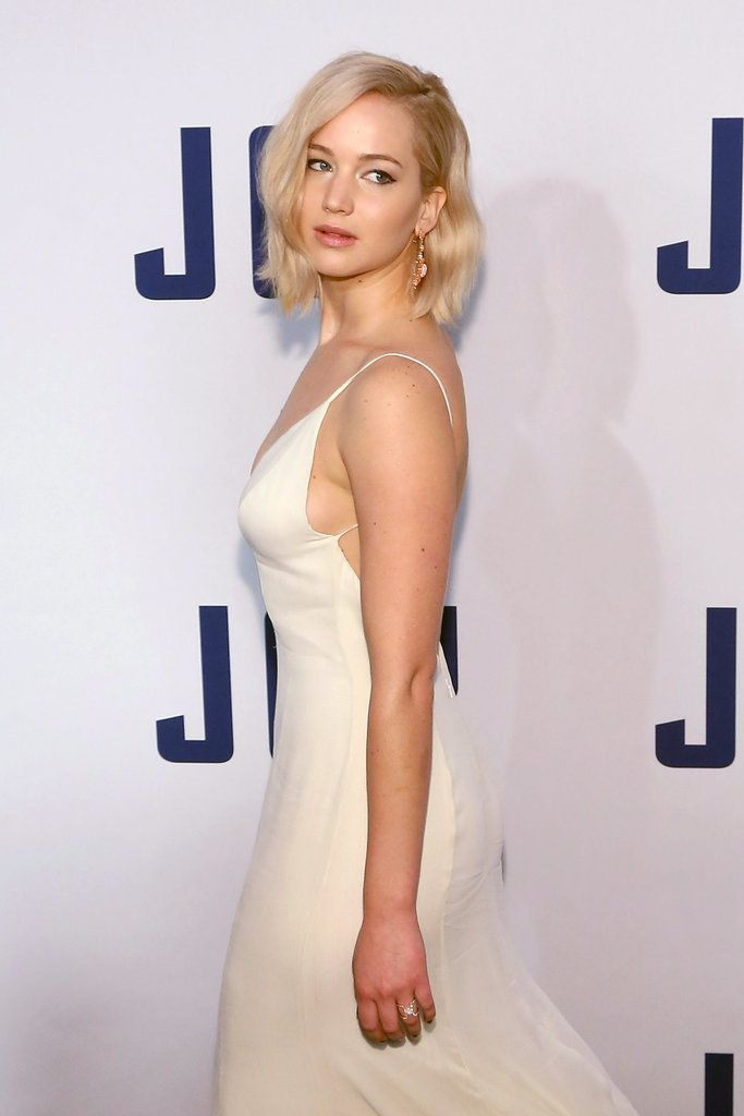 Jennifer Lawrence at the Joy Premiere NYC Pictures | POPSUGAR Celebrity