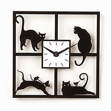 Reloj de pared Gatos Traviesos   Relojes de Pared