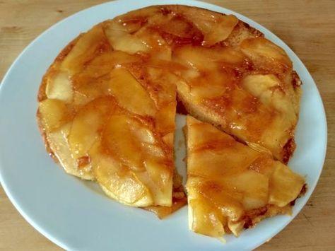 Receta de Tarta de manzana en sartén
