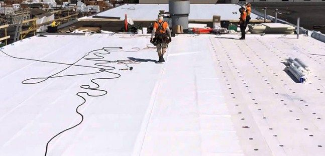 Best Flat Roofing Repair Flat Roof Replacement Roof Styles 400 x 300