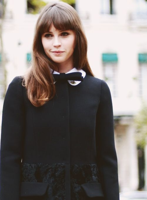 """Felicity Jones , actress (""""The Theory of Everything"""")"""