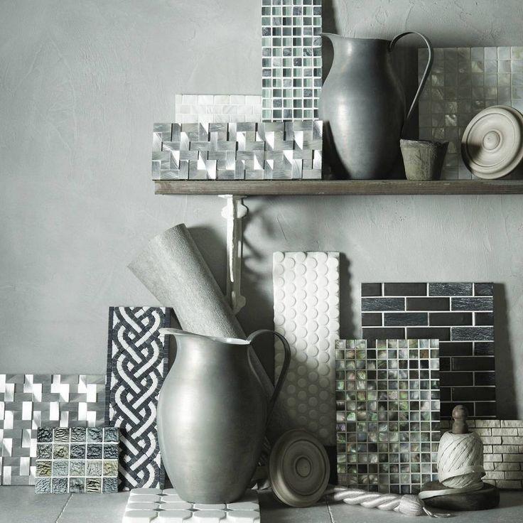 Mulighetene med mosaikk er uendelig mange! Her er et lite utvalg fra Original Style  #modenafliser