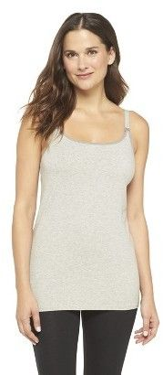 Some of the best nursing tanks are from Target, layered under sweaters, perfect for this winter.