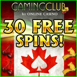 Gaming Club offers over 400 of the Best Online Casino Games for Canadians. Choose from Online Slots, Roulette, Blackjack with a CA$100 FREE Casino Bonus! Available in: English – United Kingdom , Australian, New Zealand, Canada Swedish, German, Spanish, Dutch, Russian, Finnish, French