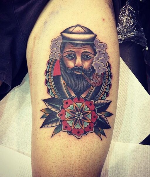 Kirk Jones Good Luck Tattoo Melbourne Australia: 169 Best Images About Traditional Tattoos On Pinterest