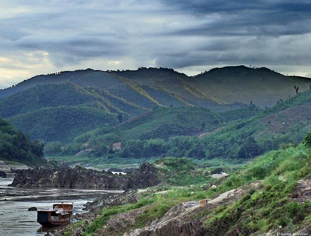 View from Pak Beng, Laos
