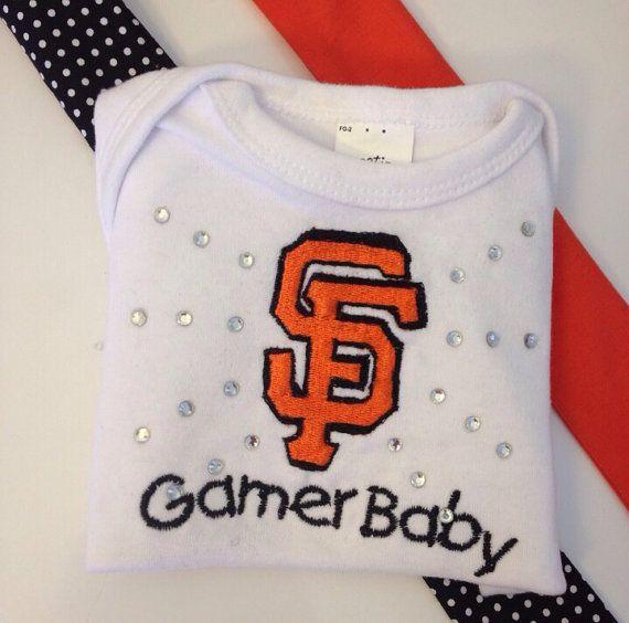 San Francisco giants  baseball team bodysuit by StitchItUpBoutique, $18.00