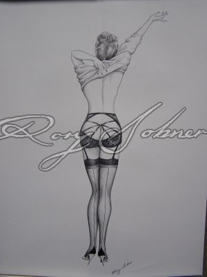 Agent Provocateur stores - Vargas Girls in AP Inks & Wallpaper | Rory Dobner