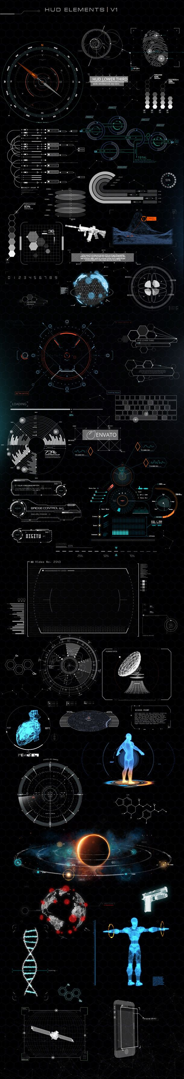 Quantum HUD Infographic by PixFlow | VideoHive