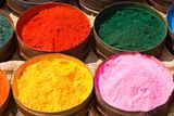 Fiber reactive dyes create a molecular bond with rayon fibers.