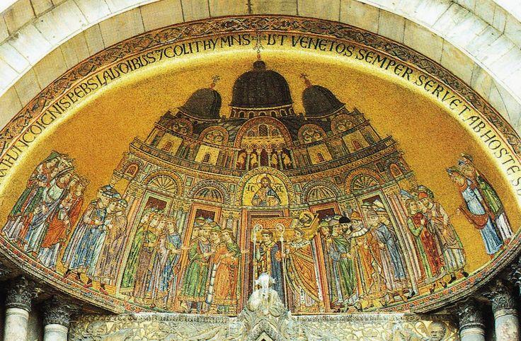 Basilique Saint-Marc, mosaïque du XIIIe siècle.