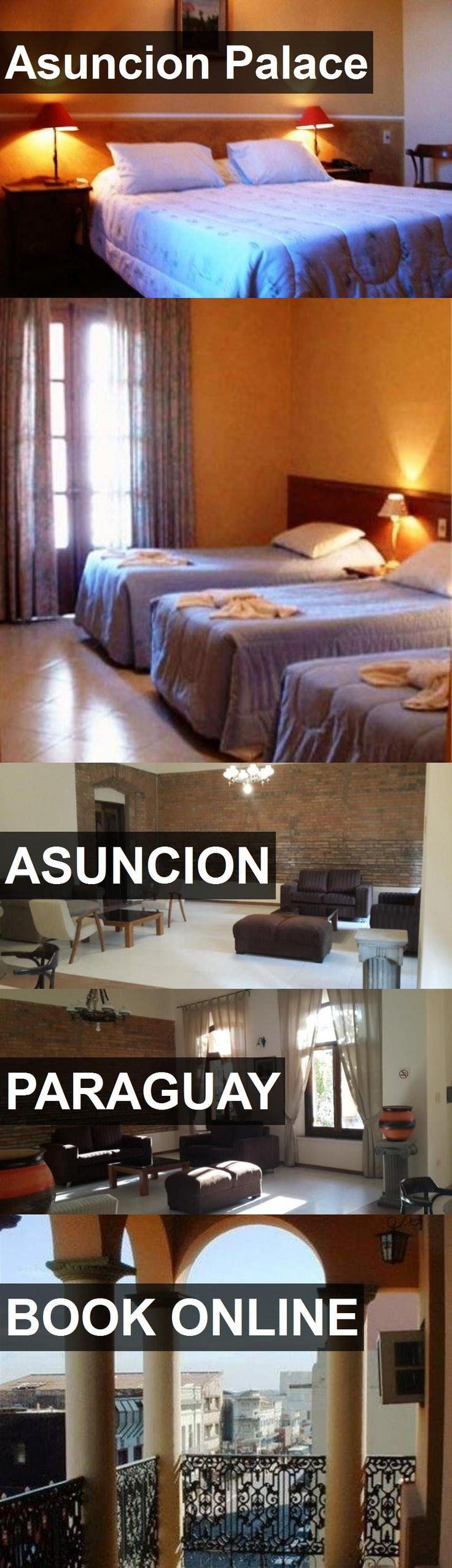Hotel Asuncion Palace in Asuncion, Paraguay. For more information, photos, reviews and best prices please follow the link. #Paraguay #Asuncion #AsuncionPalace #hotel #travel #vacation