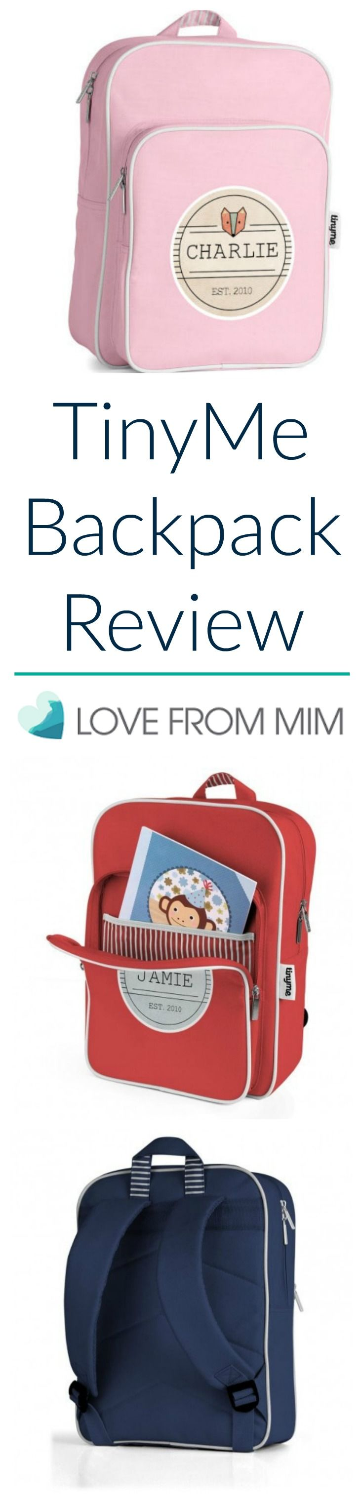 TinyMe Backpack Review