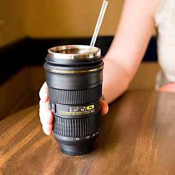 Wow. How cool is this? This is the sweetest coffee mug you could ever give to a photographer.