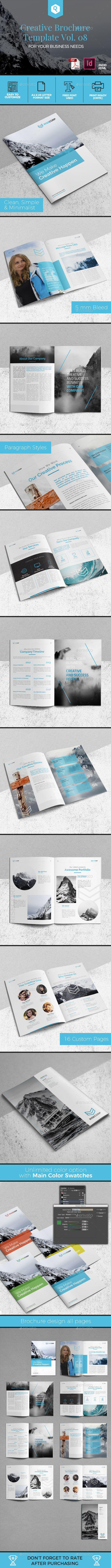 Creative Brochure Template Vol. 08 - Corporate Brochures