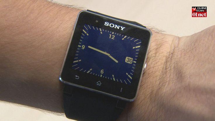 Avec Smartwach 2, Sony améliore son concept de montre connectée