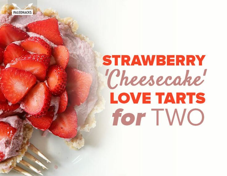 Strawberry'Cheesecake'LoveTartsforTwo