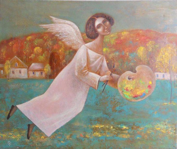 Anna Ermolaeva-gold angel
