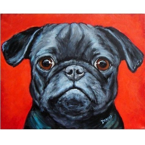 best 25 pug art ideas on pinterest a pug pug and