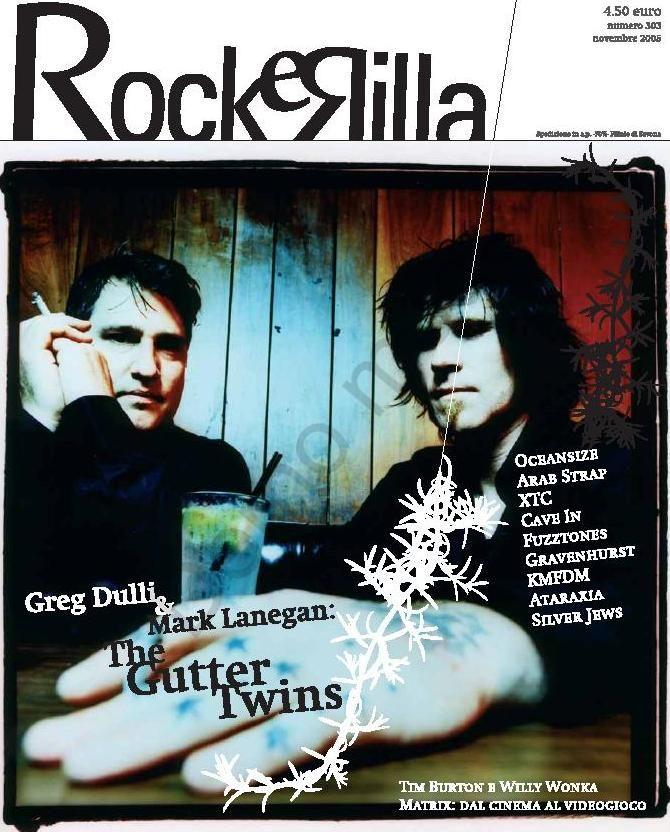Una cover assolutamente rock per la copertina di RockeRilla. Un'immagine di grande impatto per una fotomontaggi di grande effetto.