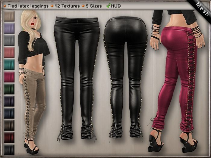 DN Mesh: Tied Leggins [DEMO]