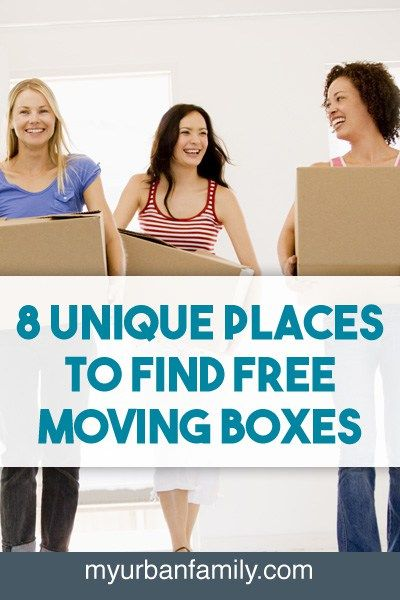 Moving can be such a headache, as well as a large expense. But moving boxes do not need to add to the stress. Find free moving boxes in these 8 locations.