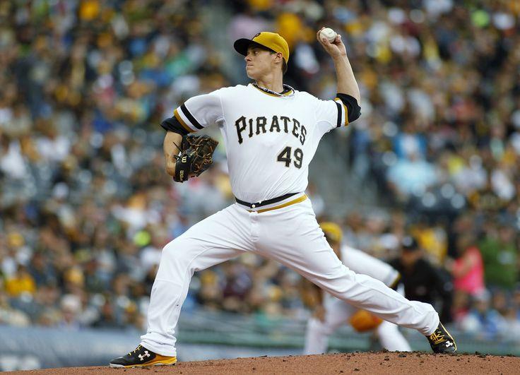Jeff Locke in Atlanta Braves v Pittsburgh Pirates