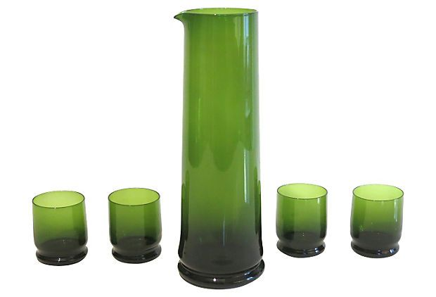Scandinavian Carafe Set, 5 Pcs on OneKingsLane.com