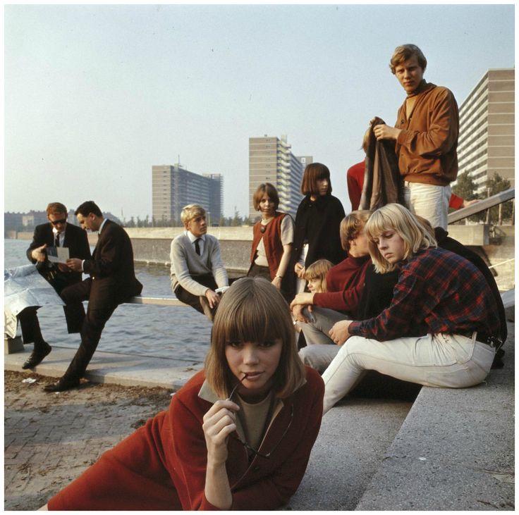 60's Amsterdam Students