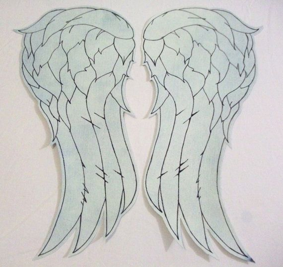 HUGE fan of the WALKING DEAD, thinking about buying this for my denim vest…: The Walks Dead, Denim Vests, Angel Wings, Norman Reedus, Daryl Dixon, The Walking Dead, Wings Vests, Huge Fans, Dead Angel