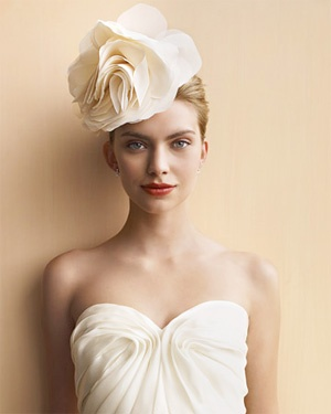 flower headpieces - brides of adelaide magazine